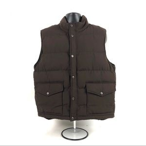 St. John's Bay Puffy Warm Polyester Vest NEW w/Tag